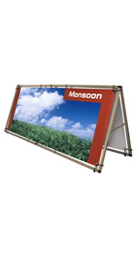 "Details zu Outdoor-Bannersystem ""Monsoon"""