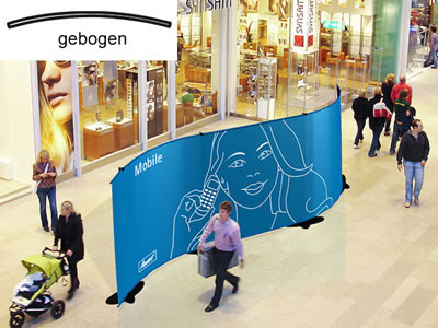 "Bannerdisplay-Wand ""StageXXL"" (Messewaende)"