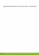 """Aufbau Leichte Trennwand """"4screen Classic WALL"""""""